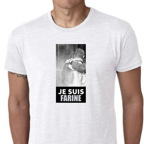 je suis farine le tee shirt