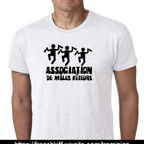 ASSOCIATION DE MALES FETEURS TEE SHIRT