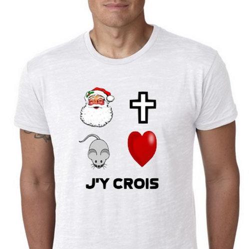 J'Y CROIS (PERSONNALISABLE)