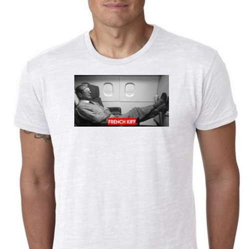 French Kiff Chirac fly tee shirt