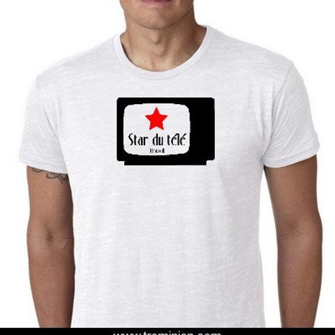 Star du Télé Travail tee shirt