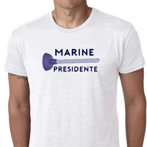 marine présidente tee shirt débouche