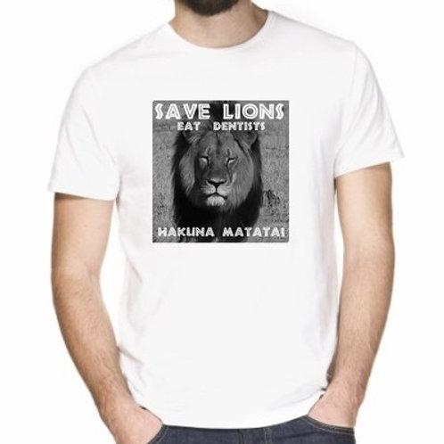SAVE LIONS EAT DENTISTS