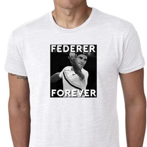 federer forever tee shirt