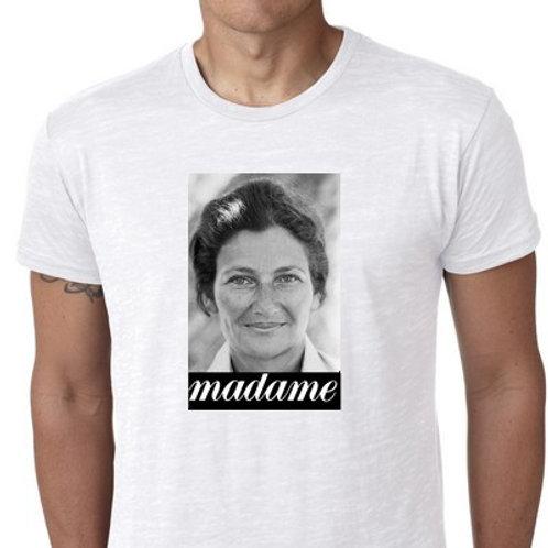 madame simone veil tee shirt