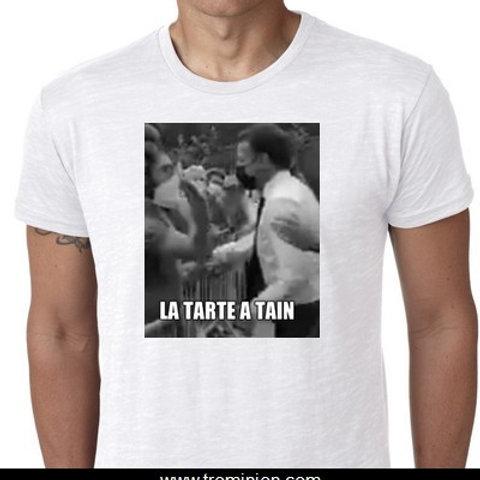 la tarte à Tain Macron