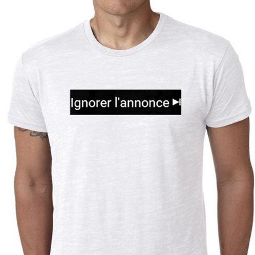 IGNOREZ L'ANNONCE...