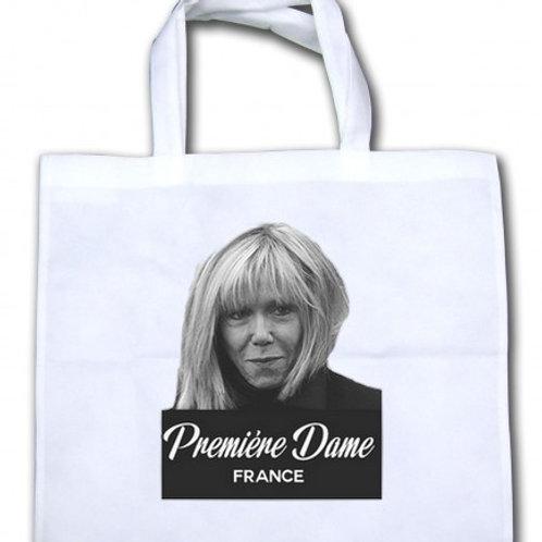 sac Brigitte macron TOTE BAG COTON