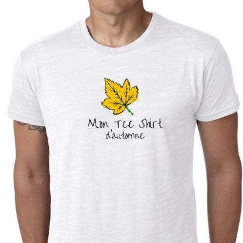 mon  tee shirt de l'automne