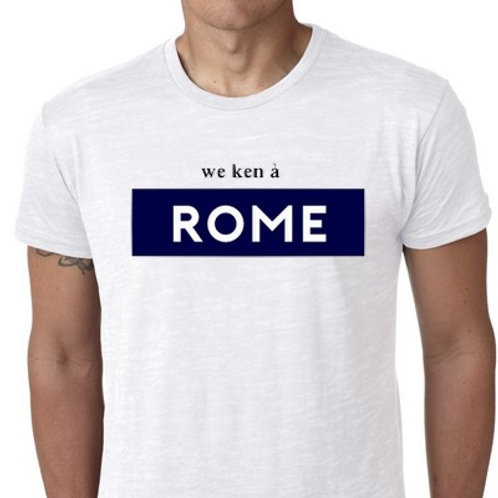 WE KEN A ROME