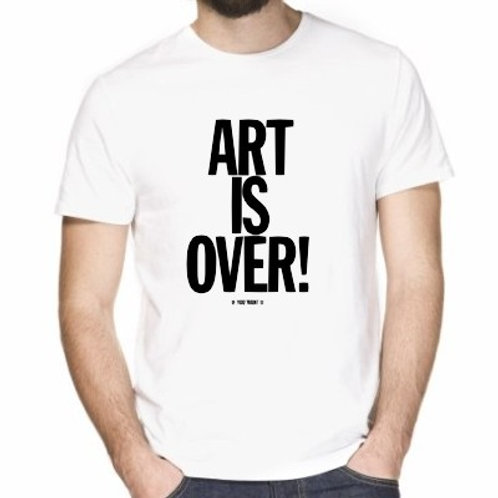 ART IS OVER