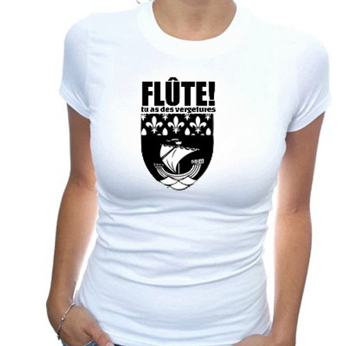 FLUTE TU AS DES VERGETURES