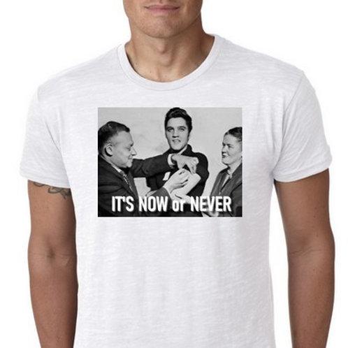 Elvis vaccin tee shirt