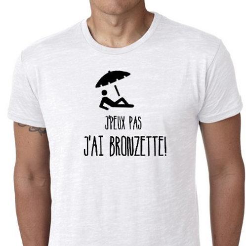 J'PEUX PAS J'AI BRONZETTE