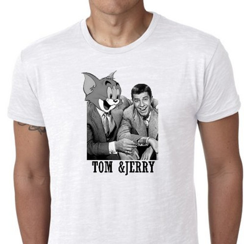 TOM and Jerry lewis tee shirt
