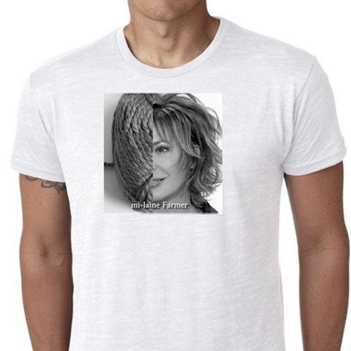mi-laine farmer tee shirt