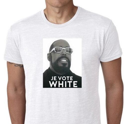JE VOTE WHITE