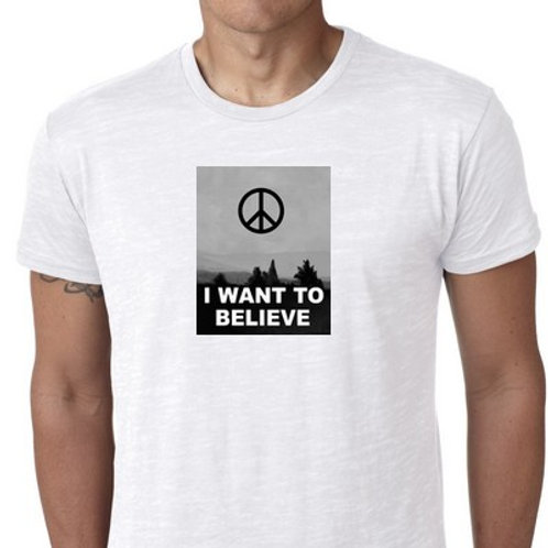 I WANT TO BELIEVE PEACE