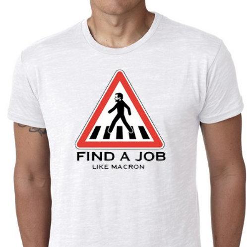 macron boulot  tee shirts