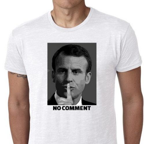 NO COMMENT MACRON TEE SHIRT