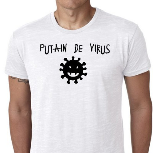 putain de virus tee shirt COVID 19