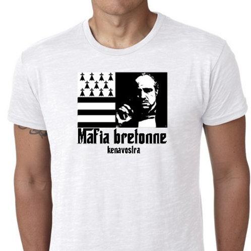 mafia bretonne macron tee shirt