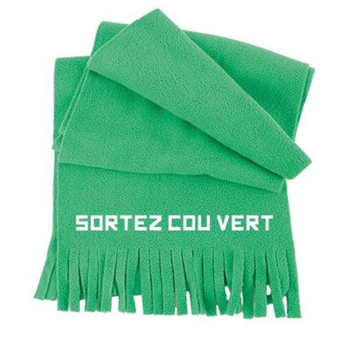 Echarpe Sortez Cou vert