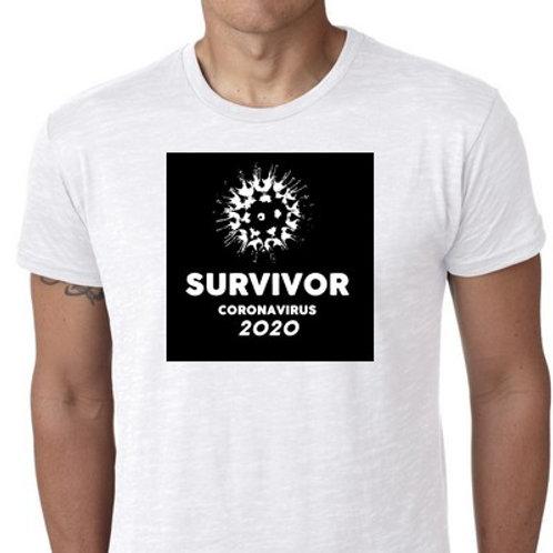 SURVIVOR CORONAVIRUS TEE SHIRT