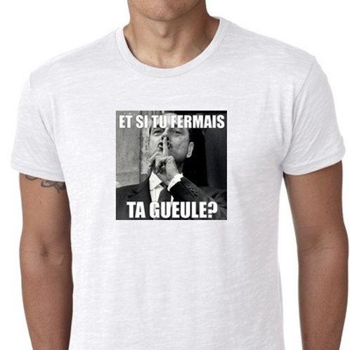 tee shirt Chirac FTG
