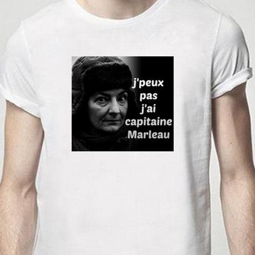 capitaine marleau tee shirt