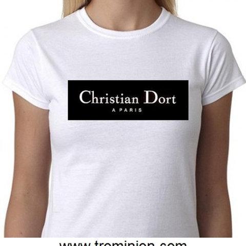 christian dort tee shirt de nuit