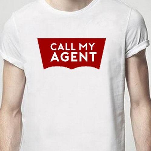 CALL my agent TEE SHIRT