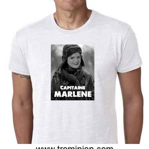 Capitaine Marléne (shiappa) tee shirt