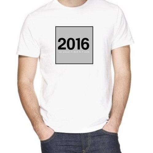 2016 mon premier tee shirt de l'année