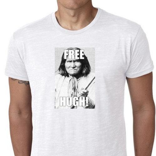 free hugh geronimo tee shirt