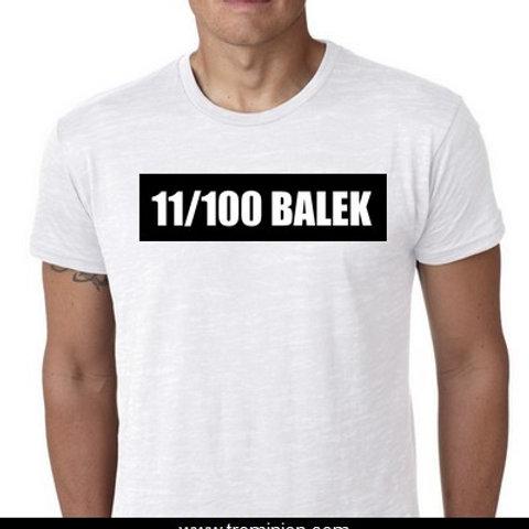 11/100 BALEK TEE SHIRT