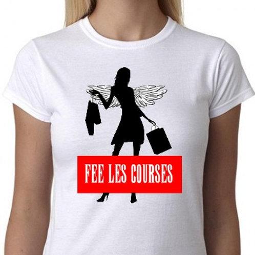FEE LES COURSES TEE SHIRT