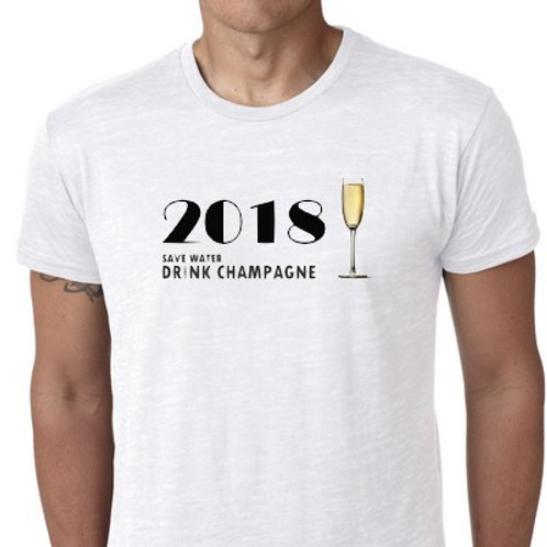 2018 SAVE WATER DRINK CHAMPAGNE