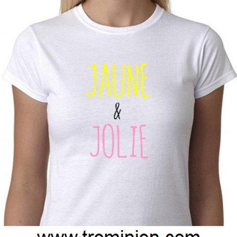 jaune et Jolie