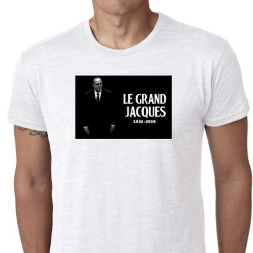 Le Grand Jacques Chirac tee shirt