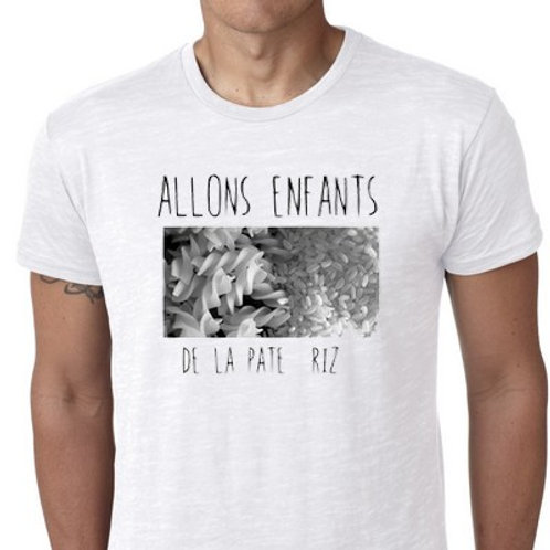 ALLONS ENFANTS DE LA PATE RIZ TSHIRT