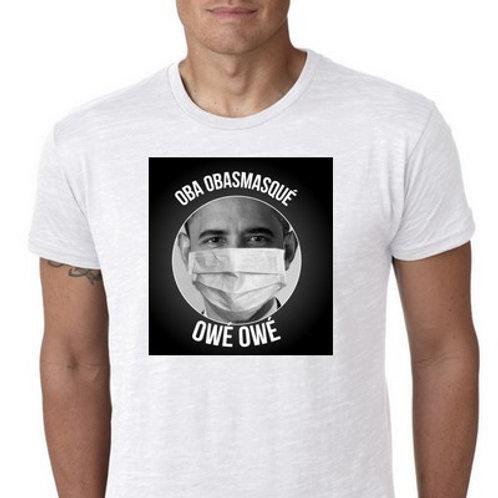 OBA OBAmasqué owé owé tee shirt