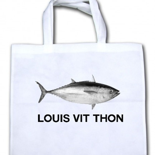 sac toile LOUIS VIT THON