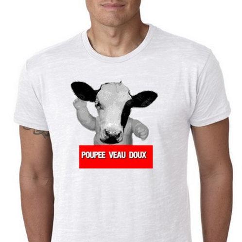 poupée veau doux  tee shirt