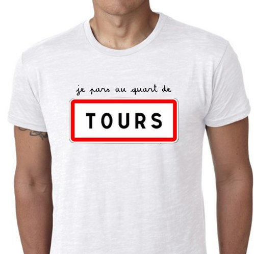 TEE SHIRT TOURS personnalisable
