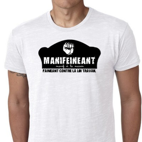 MANIFEINEANT LE TEE SHIRT MANIF FAINEANT