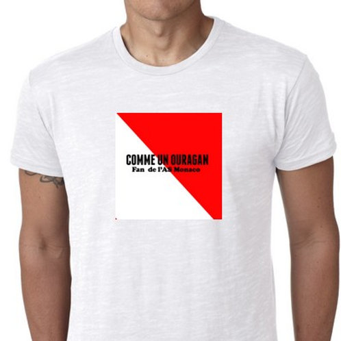 fan as monaco tshirt comme un ouragan