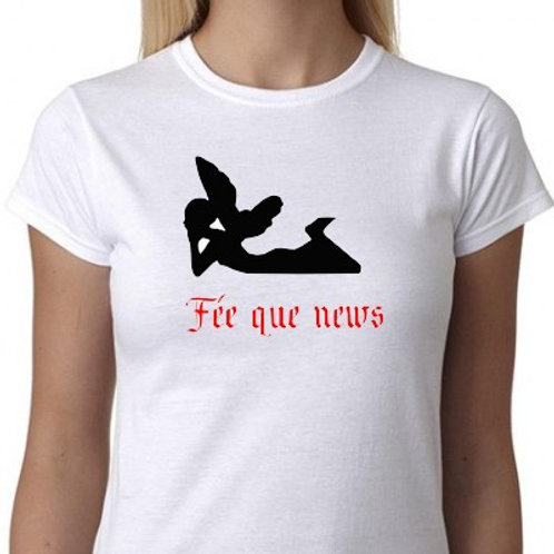 tee shirt fée personnalisable