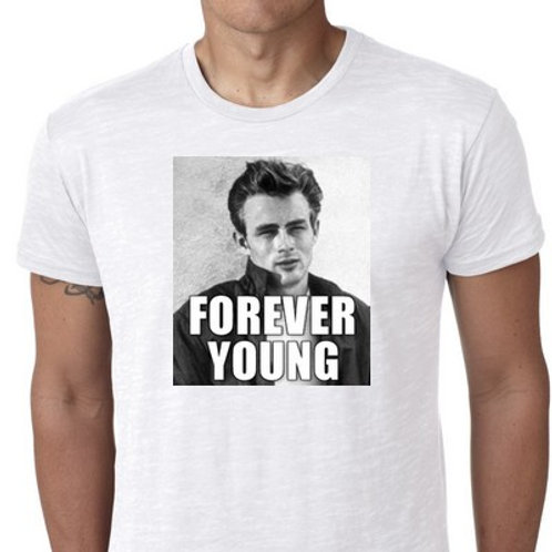 James Dean Forever Young tee shirt