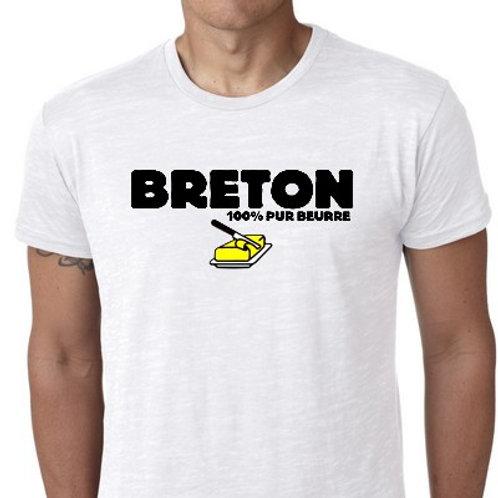 breton 100% pur BEURRE TSHIRT
